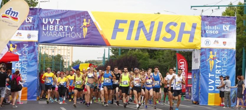 Din 27 septembrie, pentru prima dată, alergăm în siguranță timp de o lună, într-o ediție atipică a UVT Liberty Marathon!