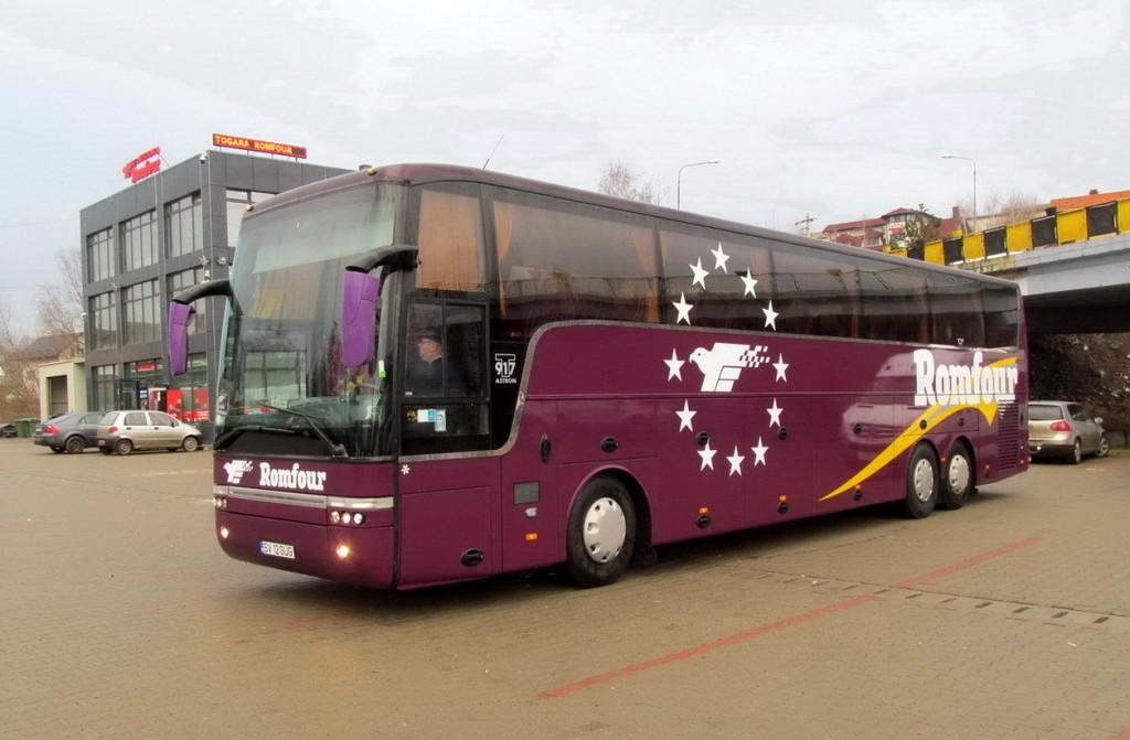 Autocar transport persoane Germania - Romania cu Romfour