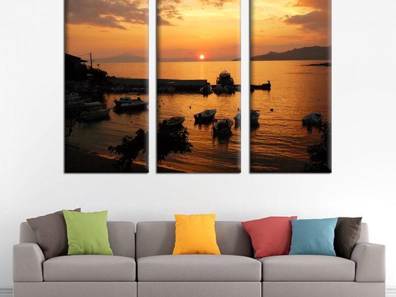 Alege sa iti decorezi camera cu un tablou canvas personalizat!
