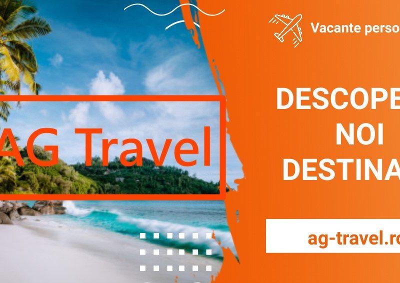 AG Travel aduce paradisul mai aproape de tine