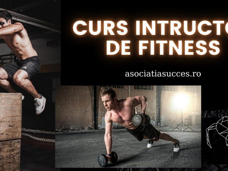 Cursuri autorizate de Instructor fitness și personal trainer