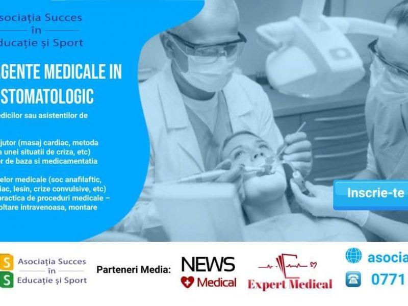 Curs de urgențe medicale în cabinete stomatologice